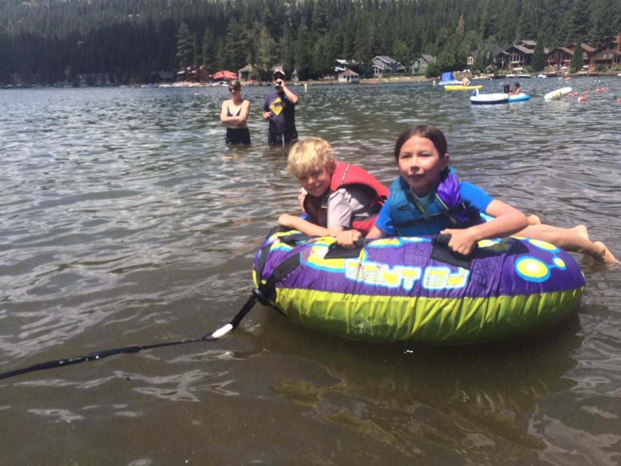 Summer at Donner Lake