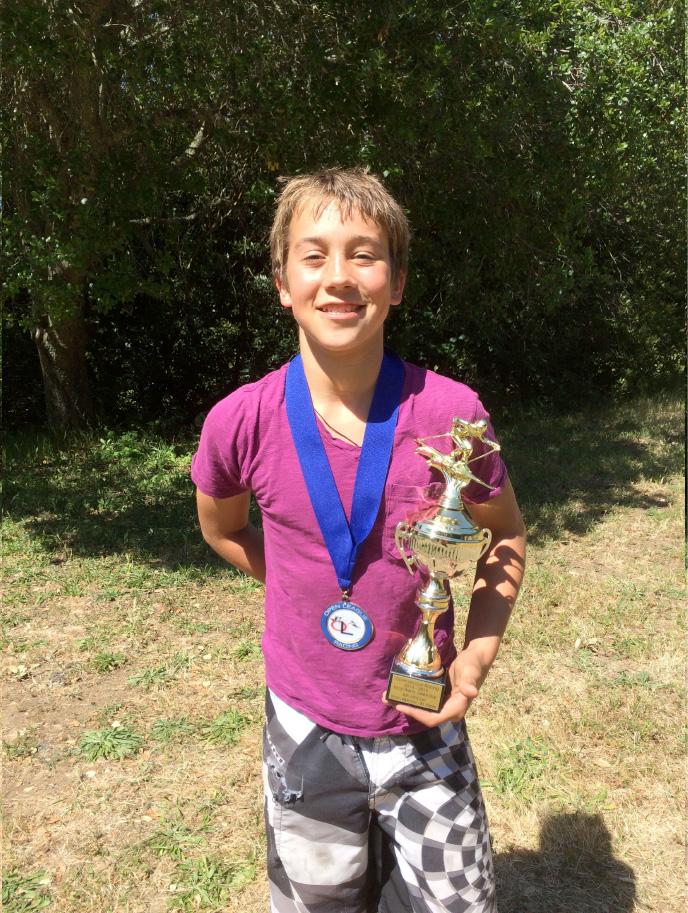 League winner Ian