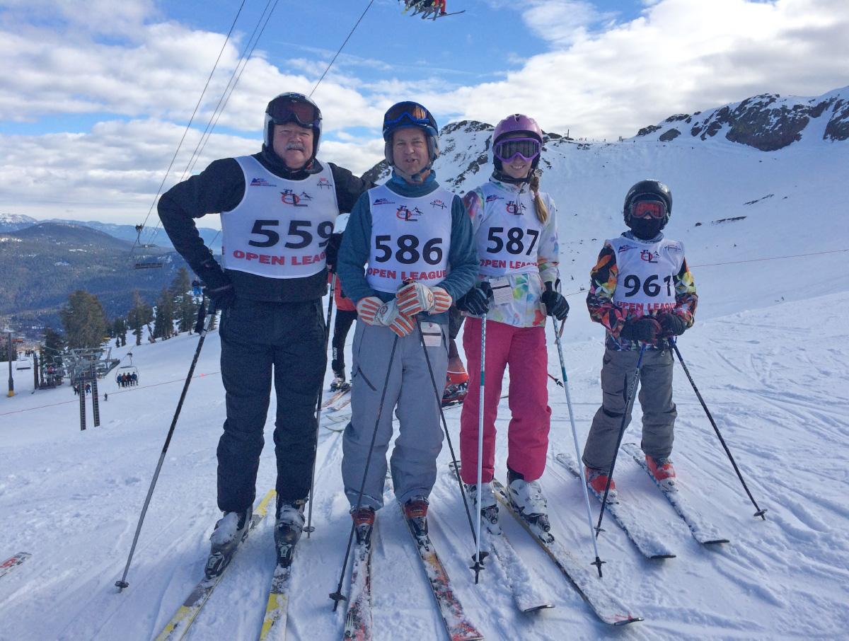 Members of the Alpineer Race Team