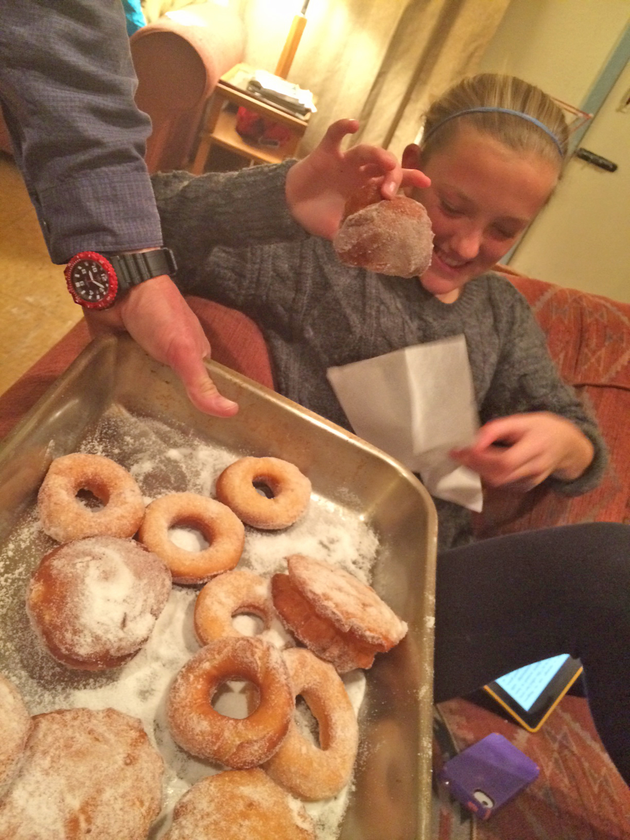 Sue's homemade donuts
